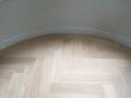 Houten vloer visgraat